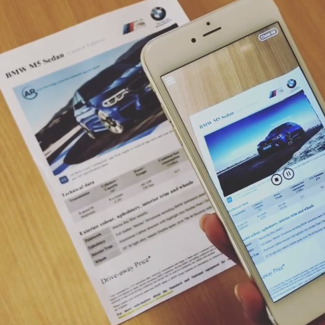 BMW – M5 Launch Augmented Reality Marketing
