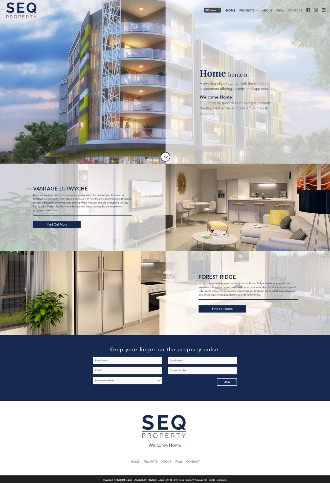 SEQ Property – Website & Digital Marketing