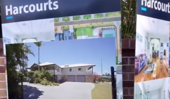 Augmented Reality 'For Sale' Signs