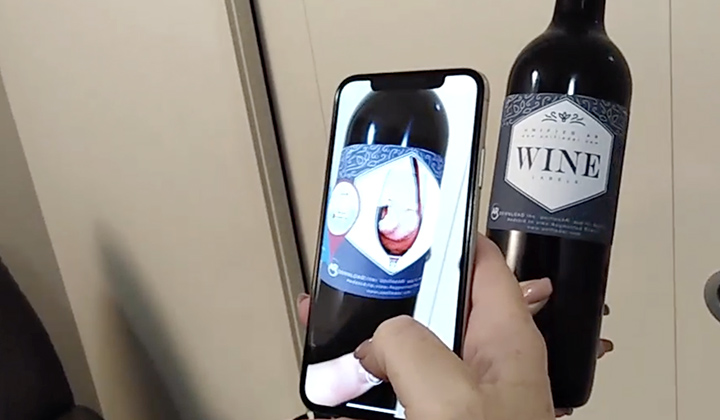 Augmented Reality Wine Labels Brisbane